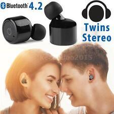 Mini TWS True Wireless Bluetooth 4.2 Twins Stereo InEar Headset Earphone Earbuds