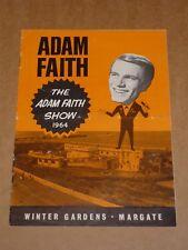 Adam Faith  & Roulettes 1964 Winter Gardens, Margate Concert Programme