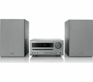 DENON DT-1 Bluetooth Traditional Hi-Fi System - Grey - Currys