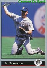 128   JAY BUHNER    SEATTLE MARINERS  BASEBALL CARD LEAF 1992