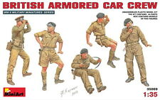 MiniArt Models 1/35 British Armoured Car Crew (5 figures)