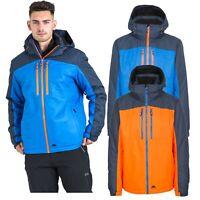 Trespass Mens Ski Jacket Waterproof & Windproof Padded Winter Coat Hood