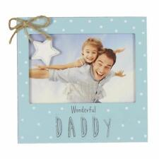 Vintage Wooden Wonderful Daddy Photo Frame Gift FW556DY