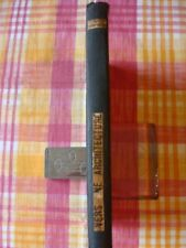 LE CORBUSIER, VERS UNE ARCHITECTURE,1924,  2eme EDITION,
