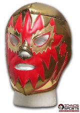 LUCHADORA SOLAR GOLD MEXICAN LUCHA ADULT WRESTLING MASK