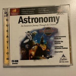 Astronomy - An Immersive Journey Through The Universe PC CDROM 1999