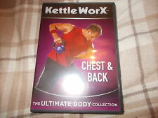 Kettleworx DVD CHEST & BACK The Ultimate Body Collection Fitness Workout Cardio