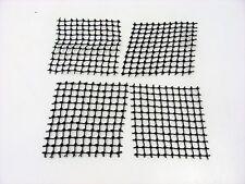 4x LEGO Black String Net 10x10 Square Pirate 6280 6291 6289 6290 6243 #71155