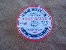 C.O. BIGELOW ROSE SALVE .8 oz THE CLASSIC ALL PURPOSE SALVE FULL SIZE NEW SEALED