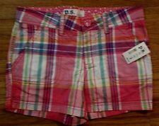 PS Aeropostale Kids Girls Pink Plaid Shorts Size 10 NWT  NEW