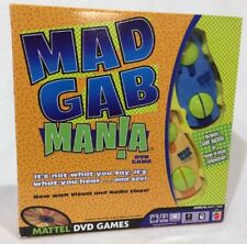 MAD GAB MANIA MATTEL DVD GAMES  2006  COMPLETE Adult Party Time