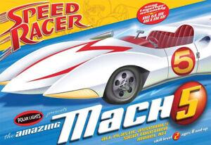 Speed Racer Mach 5 1/25 Scale Model Kit by Polar Lights 181PL201