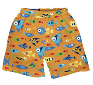NWT iPlay Swim Diaper Shorts Waterproof Swim Class Infant Pool 6 Months Small