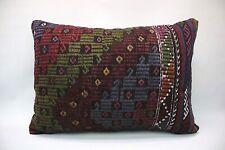 """Kilim Lumbar Pillow, 20""""x28"""", Decorative Throw Pillow, Handmade Vintage Pillow"""