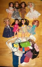 Vintage 8 Uneeda Tiny Teen Dolls Clothes Stands And More VHTF