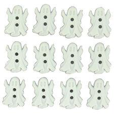 "Dress it Up Sew Cute ""Ghosts"" Buttons Halloween"