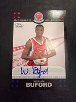 2008 Topps McDonald's All-American WILLIAM BUFORD Auto Signed