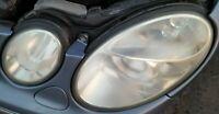 MERCEDES E320 CDI W211 PASSENGER FORNT XENON HEADLIGHT COMPLETE UNIT