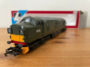 Lima 205173 OO-Gauge Class 37 CO-CO D6755 Locomotive in BR Green Boxed VGC