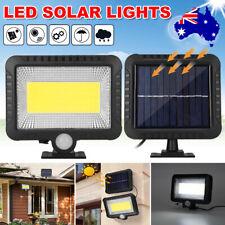 100 LED Solar Sensor Light Motion Security Detection Garden FLood Lights Lamp