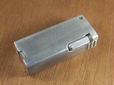 Vintage Art Deco Cigarette Lighter Rare Gray Co. Flip Open