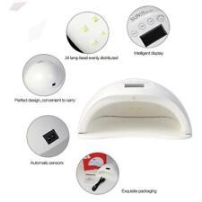 Lampada LED UV 48W Ricostruzione Unghie Mani Piedi Nail Timer Display Fornetto