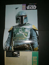 More details for star wars poster signed by jeremy bulloch / boba fett with exact photo proof