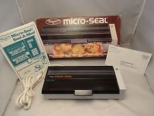 "Vintage Dazey  Micro-Seal MS-1 ""In The Bag"" Microwave Cook System Excellent Cond"