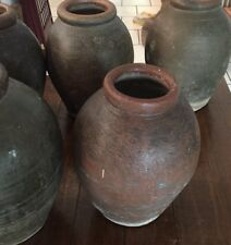 Antique French Colonial Terracotta Storage Biot Jar - Last One!!!