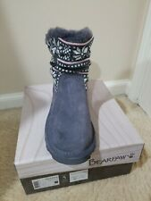 Bearpaw Virginia Youth Size 5 Charcoal