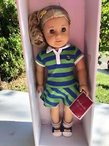"18"" LANIE HOLLAND American Girl Doll of the Year 2010 + Book Retired NIB!"