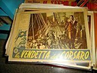 El Vendetta de Corsaro Fotobusta Pequeña Original 1951 Montez Aumont Vital
