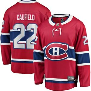 Men's Montreal Canadiens Cole Caufield Red Breakaway Player NHL Hockey Jersey