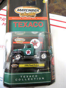 2000 MATCHBOX COLLECTIBLES 'TEXACO' 1956 FORD PICK-UP TRUCK VERY GOOD COND.