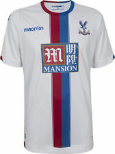 CRYSTAL PALACE football SHIRT size:XL Adult White SOCCER JERSEY maglia camiesta