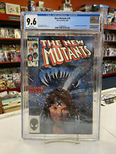 NEW MUTANTS #18 (Marvel Comics, 1984) CGC Graded 9.6 ~WHITE Pages