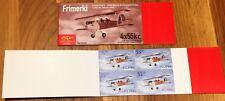 Iceland Booklet 2001 Old Planes 55 kr x4 - MNH - Excellent!