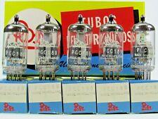 5x PCC189 = 7ES8 Pope Philips A-Frame Radio Röhre tube Valvola NOS NEW NEU