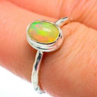 Ethiopian Opal 925 Sterling Silver Ring Size 7 Ana Co Jewelry R46927F