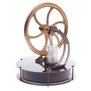 Low Temperature Stirling Engine Motor Model Cool No Steam Education Toys Kit