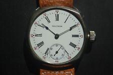 Vintage Waltham 15 jewel Wrist Watch w/Two-tone Porcelain Dial