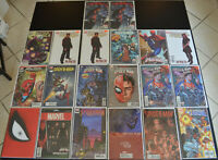 (20) Book Comic LOT with SPIDER-MAN Variant Covers #1 2 3 4 6 24 31 41 297 (NM+)