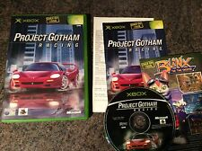 Project Gotham Racing Xbox Game! Complete! Look At My Other Games!