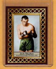 Jack Sharkey '32 World Heavyweight Boxing Champ, Fan Club serial numbered /300