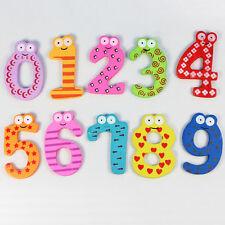 Magnetic Wooden Numbers Math Set for Kids Children Preschool School  GFY