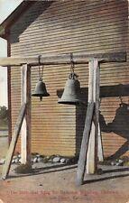 SAN DIEGO CALIFORNIA~THE BELLS THAT RANG FOR RAMONA'S WEDDING POSTCARD 1908