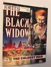 Black Widow the Coldest War 1st print graphic novel unread 1990 Avengers NM