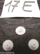 Ingranaggi ingranaggio pezzi di ricambio modellismo meccanismi in plastica 17E