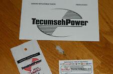 Tecumseh Snowblower , tiller engine stop switch terminal ground clip 610973