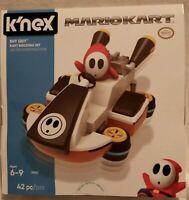 K'NEX Mario Kart  SHY GUY Kart Building Set   NEW